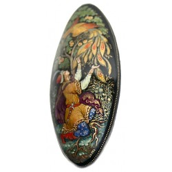 Brooch: Ivan and Fire-Bird