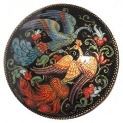 Brooch: Fire birds