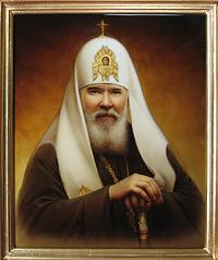 Патриарх Всея Руси Алексий 2й.