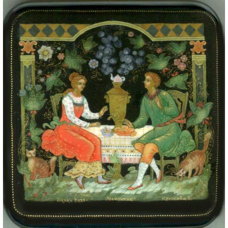 Tea Party at the Samovar