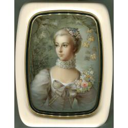 Portrait of Madame de Pompadure