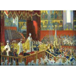 The coronation of Emperor Nicholas