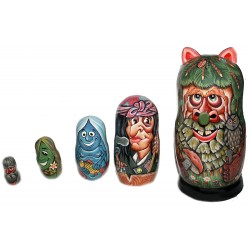 Matrioshka Wood Goblin