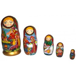 "Matrioshka ""Tale of Tsar Saltan"""