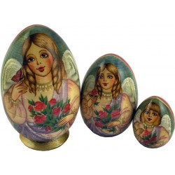 "Matrioshka egg ""Angel"""