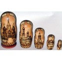 "Matrioshka ""Ancient Moscow"""