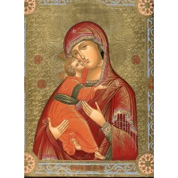 Icon:The Vladimirskaya Godmother