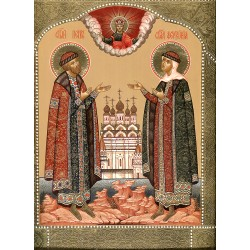 Icon: St.Peter and Fevroniya