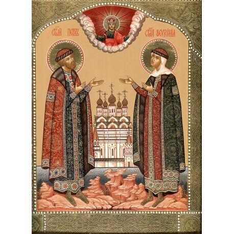 Icon: St.Peter and Fevroniya