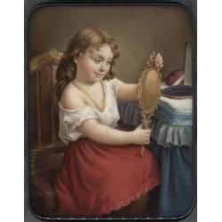 Girl at a Mirror