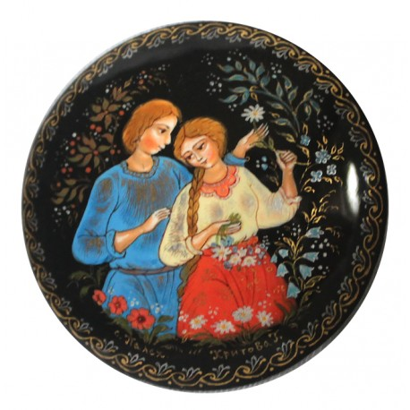 Brooch: Loving Couple