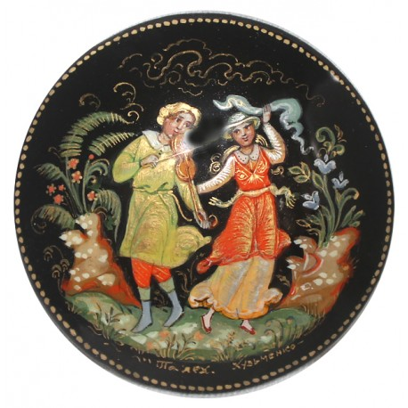 Brooch: Dance