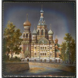 The Cathedral of the Resurrection in St.Petersburg